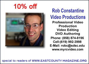 10% off Rob Constantine Video Productions
