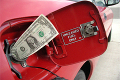Money in the Gas Tank