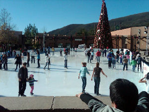 Viejas casino ice skating rink