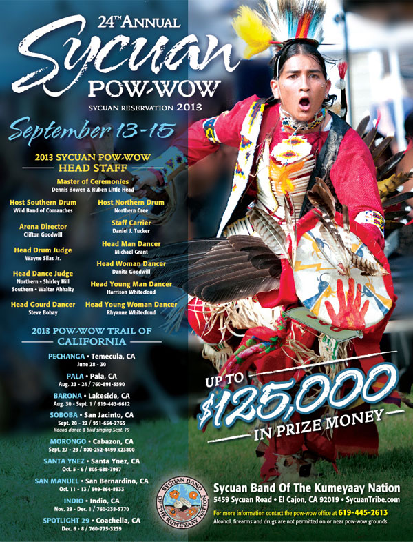 Art Calendar Business Magazine : Th annual sycuan pow wow is sept east county
