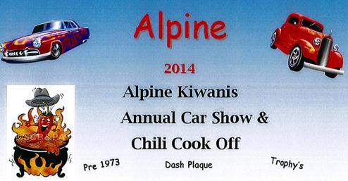 Alpine Kiwanis Car Show
