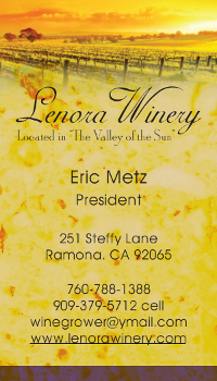 lenora winery