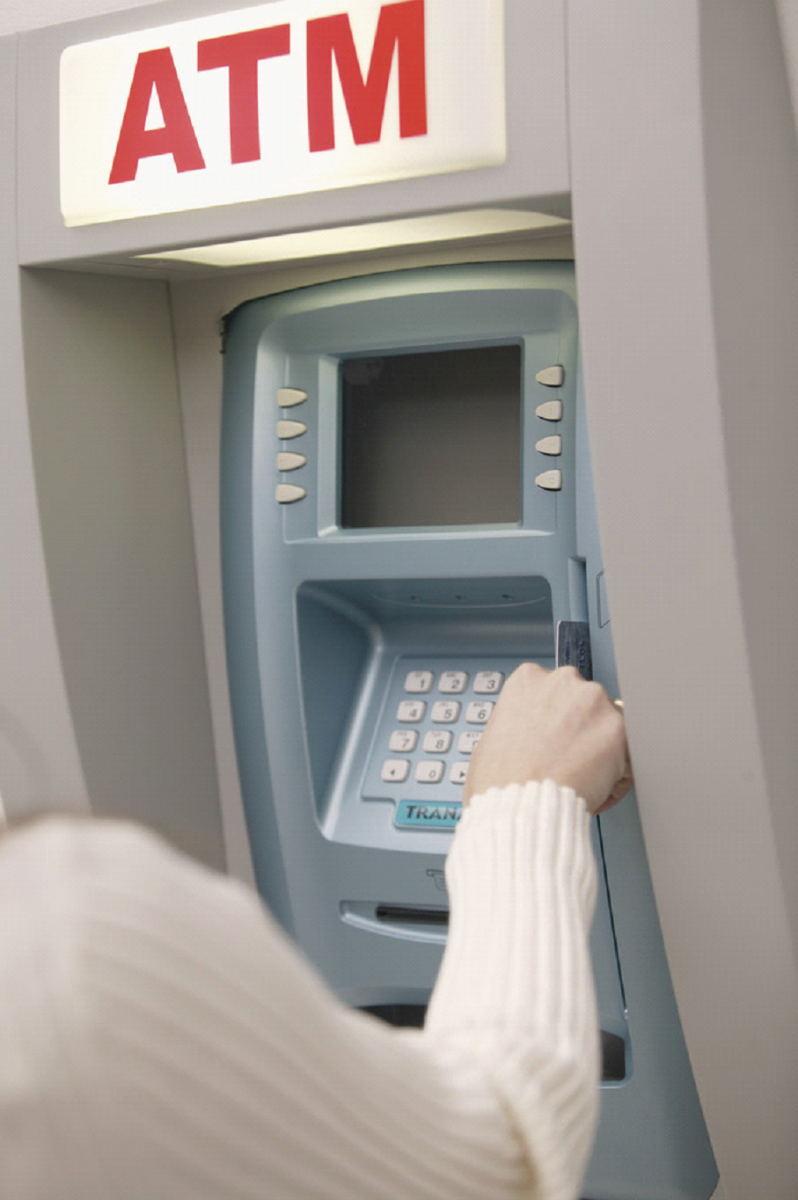 atm machine network