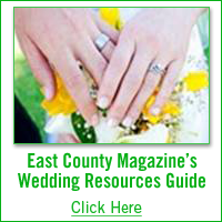 east county magazine's wedding resources guide