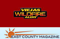 Viejas Wild Fire Alert - East County Magazine