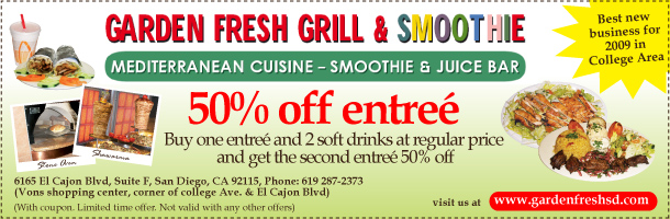 best of middle east county garden fresh grill smoothie east county magazine