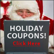 Holiday Coupons!