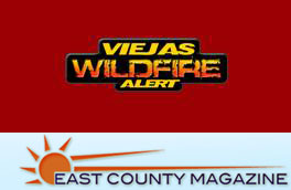 Viejas Wildfire Alerts - Powered by East County Magazine