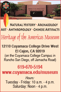 Heritage of the Americas Museum - College for Kids Summer Cuyamaca