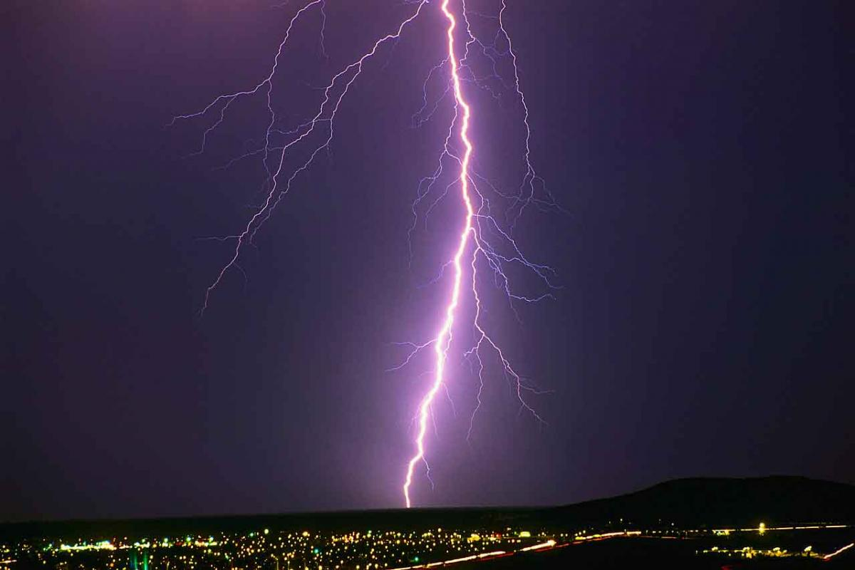 thunderstorms  lightning likely to light up sky on tuesday
