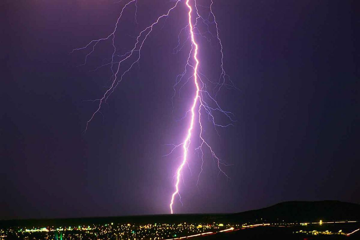 Lightning Bolt - Ride The Skies