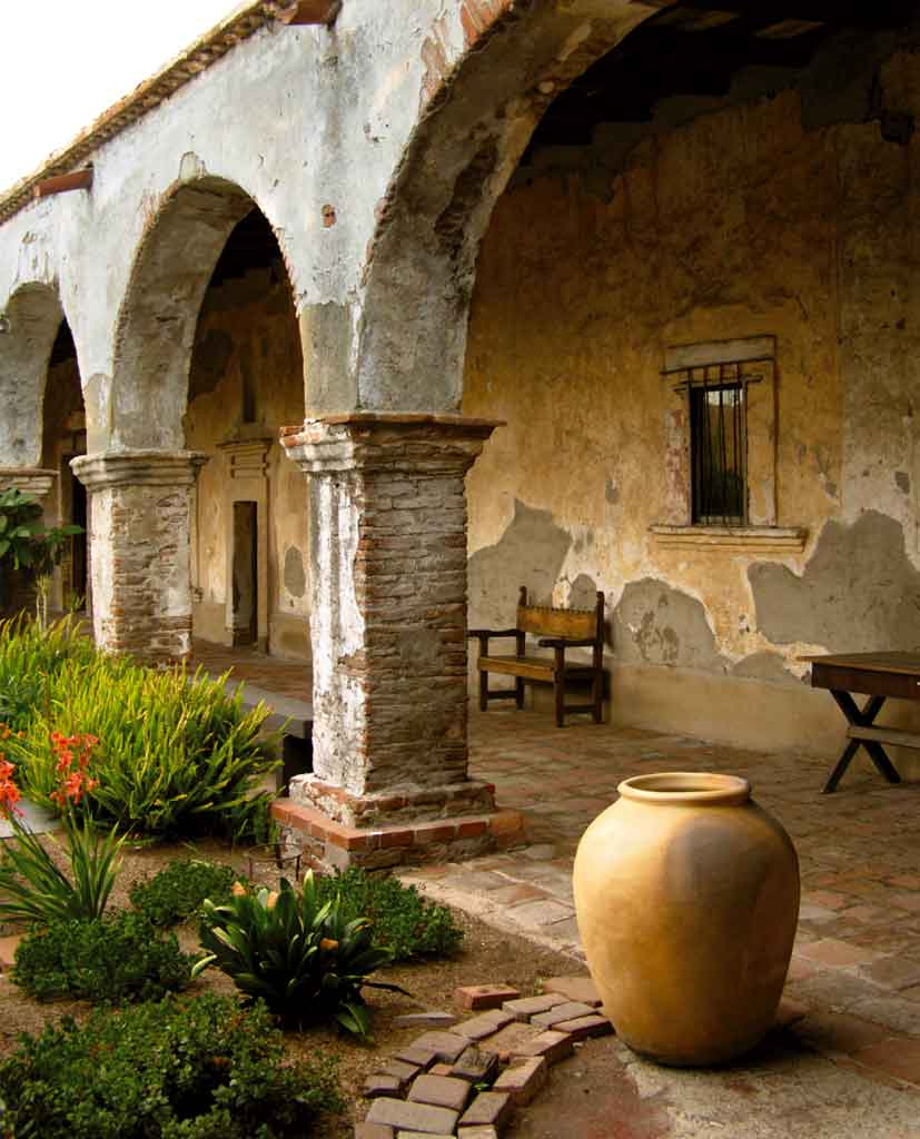 Mexican Rooftop Property Image 15 Gardens On Rooftop 2: EXPLORE THE CALIFORNIA MISSIONS ART EXHIBIT AT MISSION