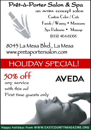 Pre-a-porter Salon & Spa holiday discount