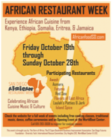 African restaurant week oct 18 28 celebrates cuisine for Afro latino 18 cuisine