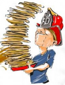 Image result for fire department pancake