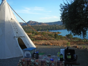 lake jennings campground map Lake Jennings Tipi Camping Provides Fun Getaway East County Magazine lake jennings campground map