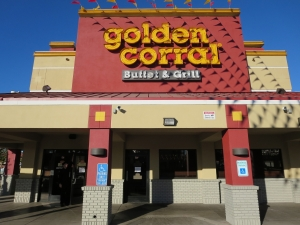 """Photo of Golden Corral - Mesa, AZ, United States by Sophia S. See all 37 """"The chocolate fountain was the perfect finish to the enormous meal."""" in 5 reviews3/5(84)."""