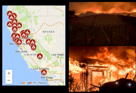 Fire In San Diego Today >> Northern California fires | East County Magazine