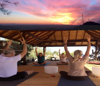 East county magazine for Yoga retreat san diego
