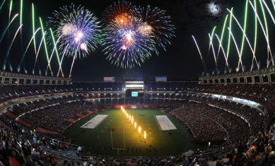 KGB SKY SHOW TO LIGHT UP NIGHT AFTER AZTECS HOME OPENER SEPT  8