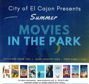 Parks Department For City Of El Cajon