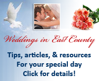 Weddings in East County