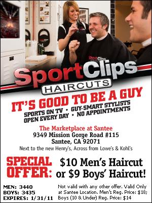 Sport Clips Haircuts In Santee Kicks Off Effort To Help Heroes Call