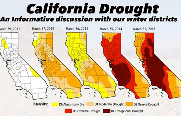 18,000 acres Burning AND 82,000 people told to Evacuate in California!  DroughtChart-CC