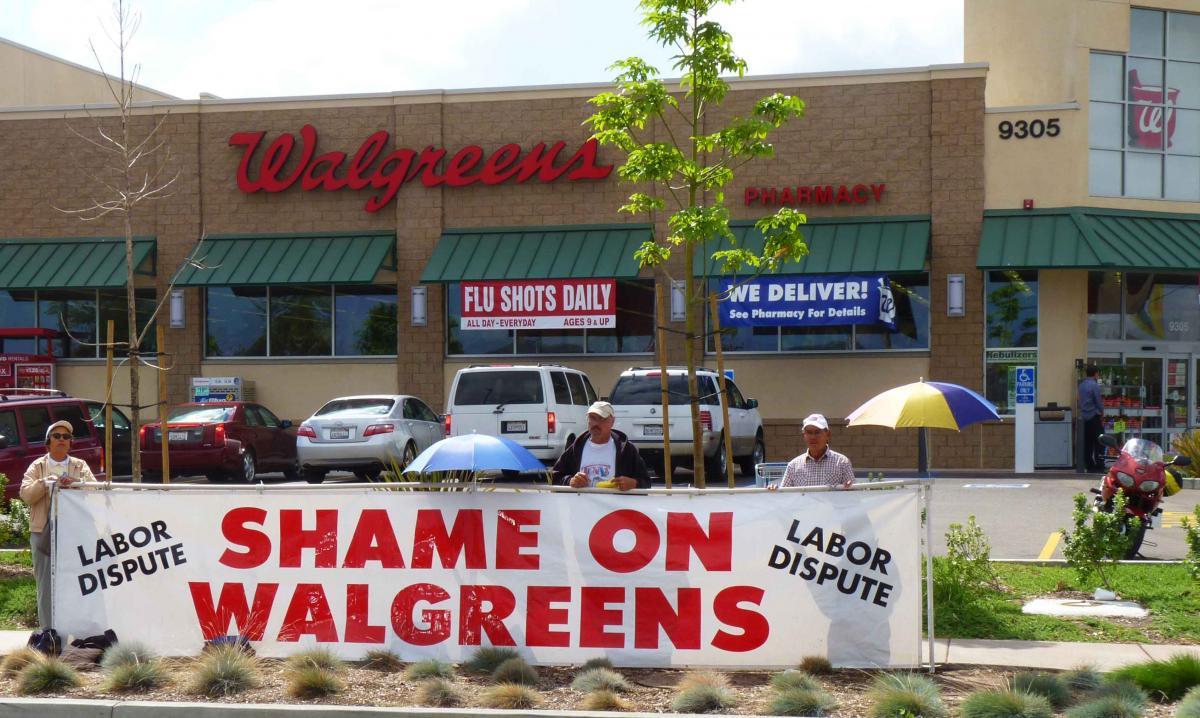 shame on walgreens labor dispute takes to streets nationwide shame on walgreens labor dispute takes to streets nationwide locally east county magazine